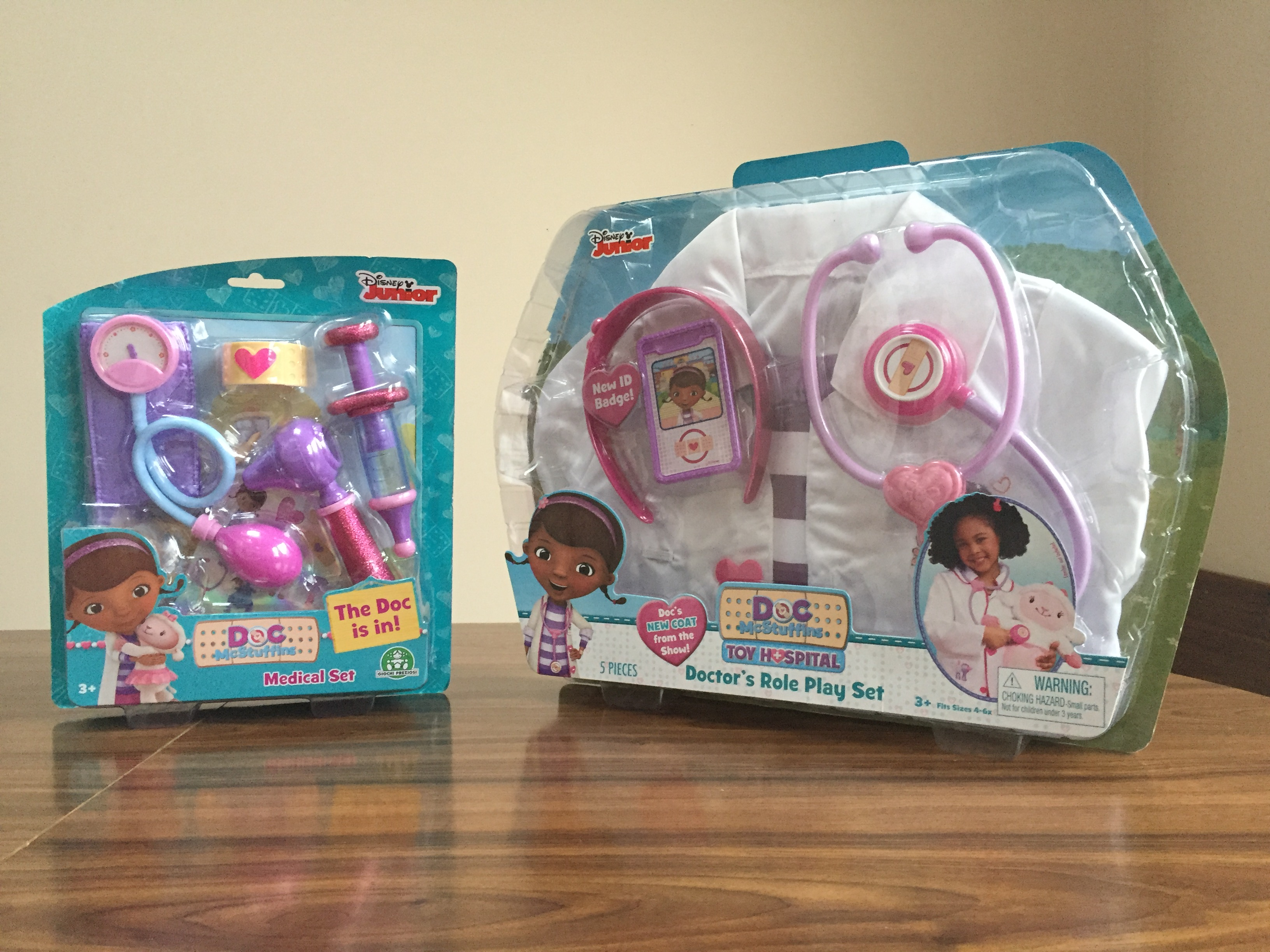 Doc McStuffins Role Play set – Mummy and the Cuties