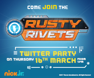 Come and Join us for the Rusty Rivets Twitter Party – 16th Mar 2017 from 4:30pm – 6pm!