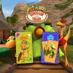 Review: Dinosaur Train – Paint and Match App