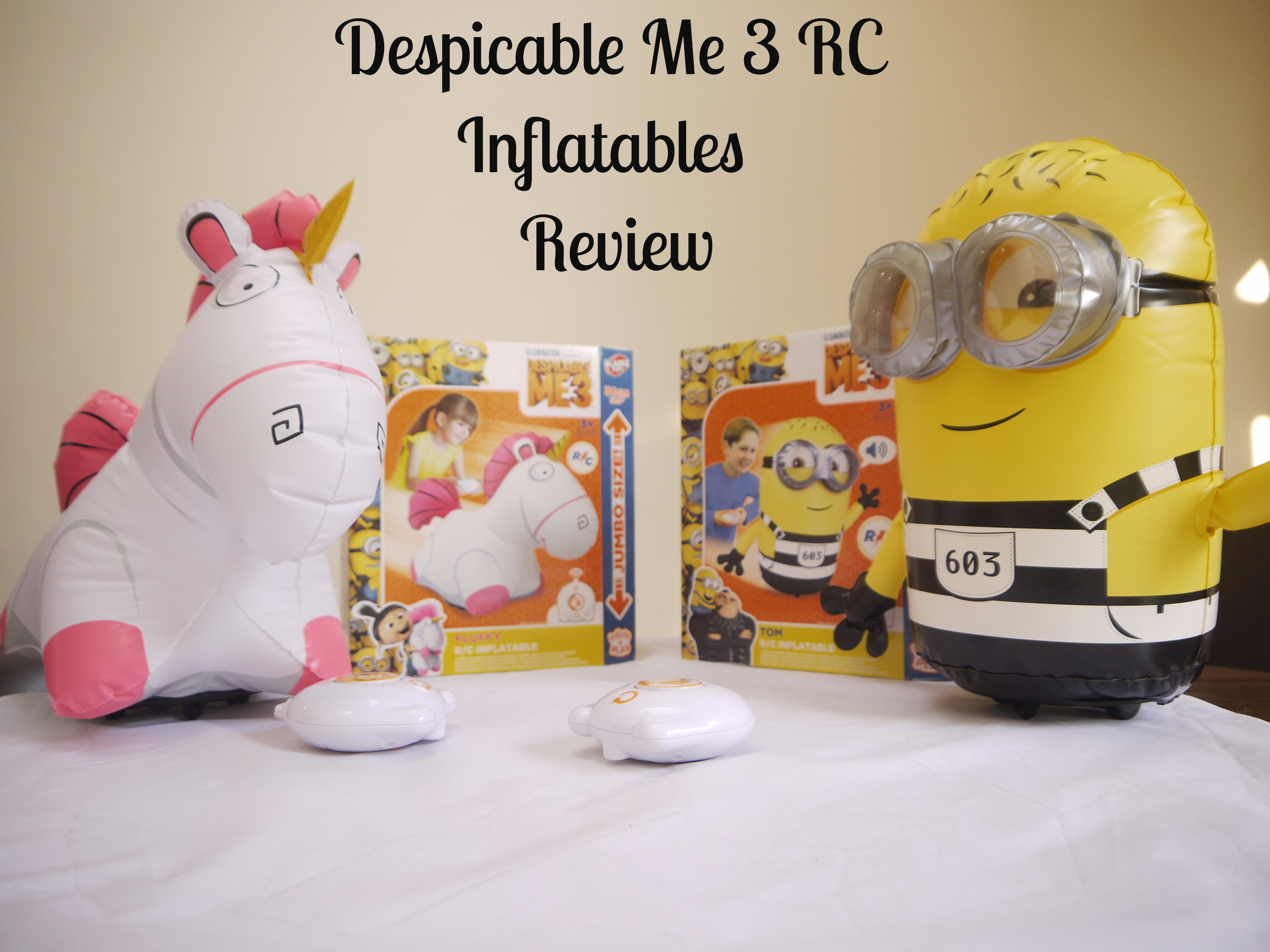 R/C Inflatable Despicable Me 3 Range – Review