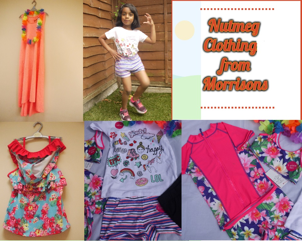 Getting ready for summer with Nutmeg Clothing from Morrisons