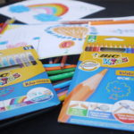 Colouring with BIC® KIDS colouring range