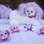 Introducing – Cali Puppy Surprise Plush and her puppies
