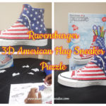 Ravensburger 3D American Flag Sneaker Puzzle – Review