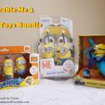 Despicable Me 3 Minions Toys Bundle – Stuart Vehicle RC, Minions Walkie Talkies and Splashers
