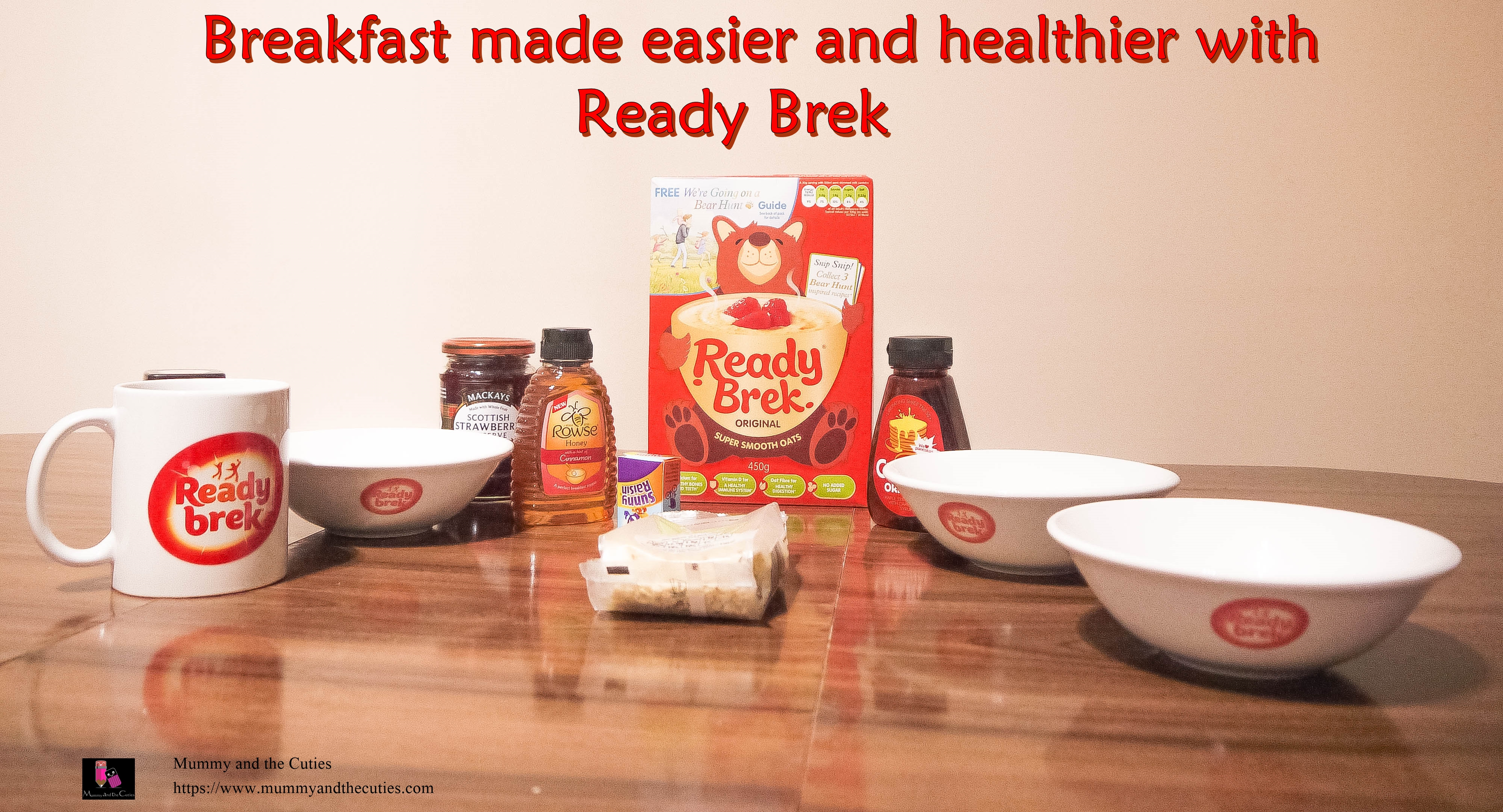 Ready Brek – Breakfast made easier and tastier