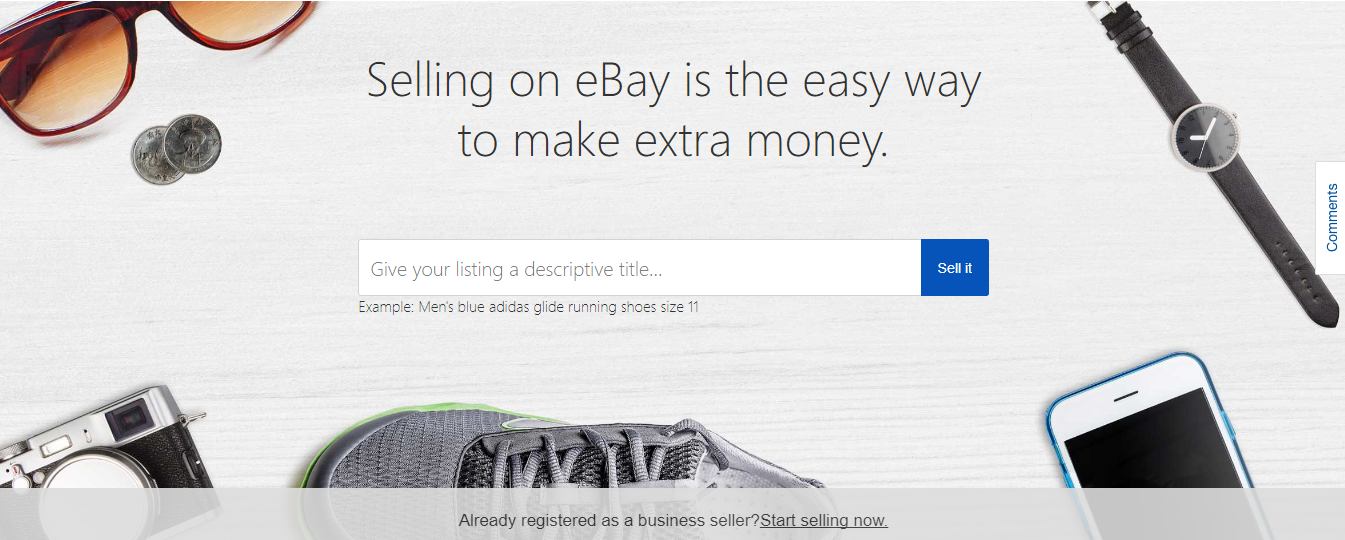 Decluttering!? Sell your unwanted items on eBay