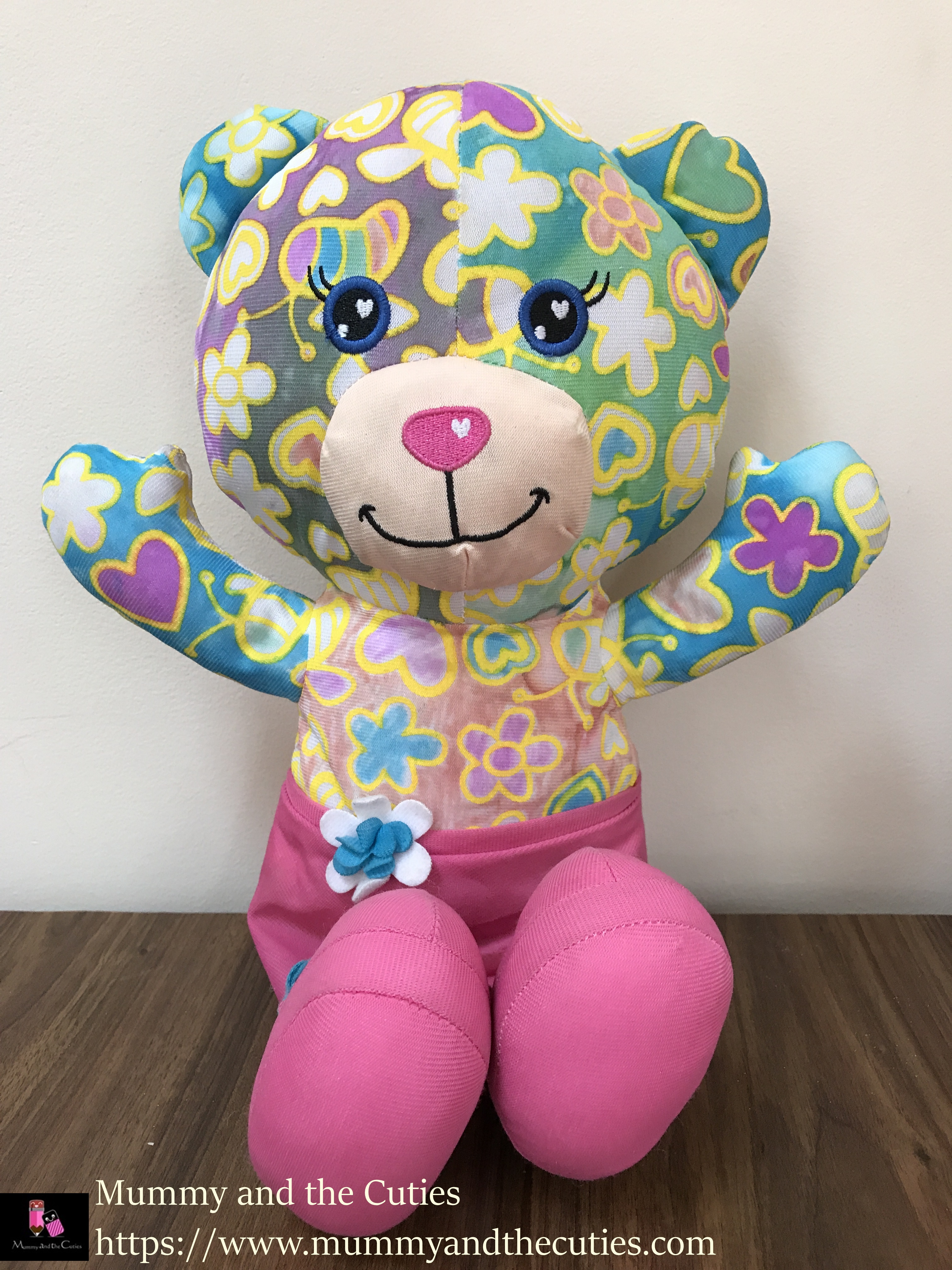 out to impress colour your own honey bee bear u2013 review u2013 mummy and
