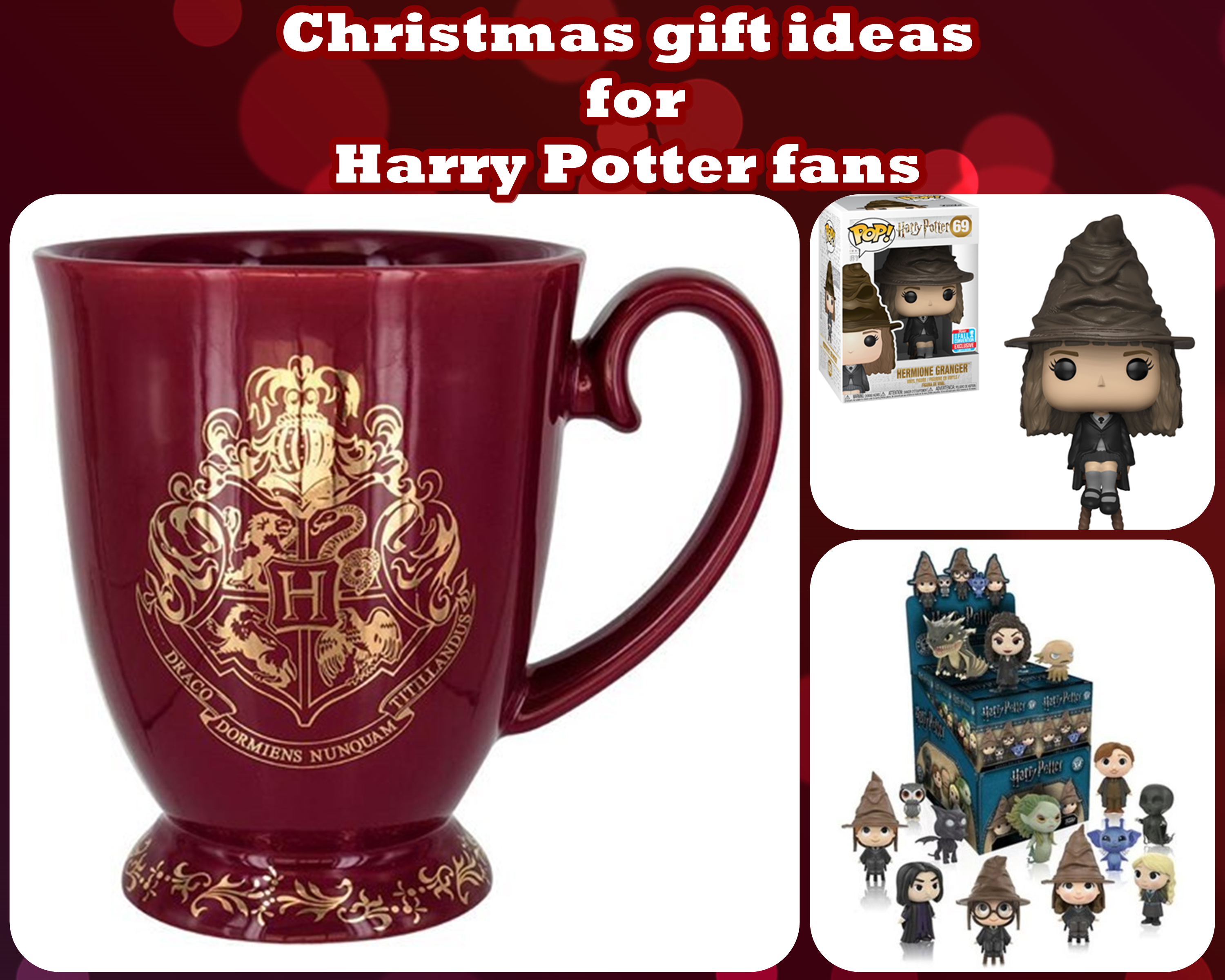 Christmas Gift Ideas For Harry Potter Fans Mummy And The Cuties